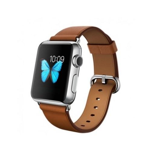 Apple Watch 38 Mm Paslanmaz Çelik Kasa Klasik Tokalı Klasik Kahve Kayış Mlcl2tu/A Akıllı Saat