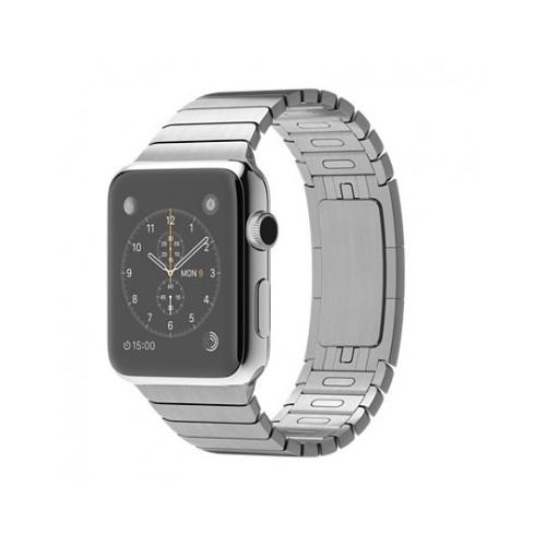 Apple Watch 42 Mm Paslanmaz Çelik Kasa Baklalı Model Bilezik Mj472tu/A Akıllı Saat