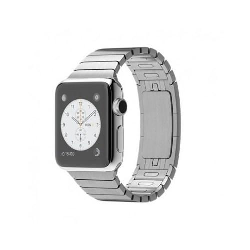 Apple Watch 38 Mm Paslanmaz Çelik Kasa Baklalı Model Bilezik Mj3e2tu/A Akıllı Saat