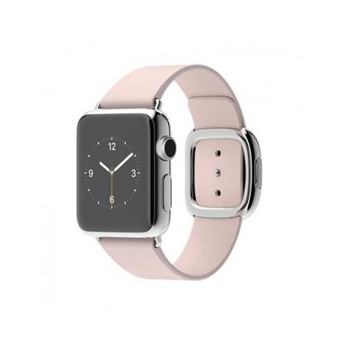 Apple Watch 38 Mm Paslanmaz Çelik Kasa Modern Tokalı Açık Pembe Kayış Mj372tu/A (Medium) Akıllı Saat