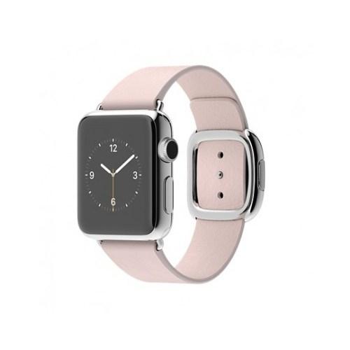 Apple Watch 38 Mm Paslanmaz Çelik Kasa Modern Tokalı Açık Pembe Kayış Mj362tu/A (Small) Akıllı Saat