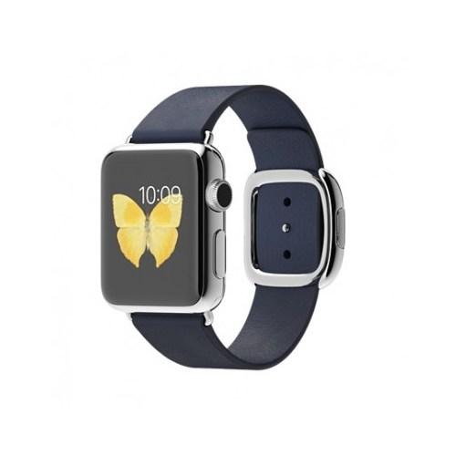 Apple Watch 38 Mm Paslanmaz Çelik Kasa Modern Tokalı Gece Mavisi Kayış Mj332tu/A (Small) Akıllı Saat