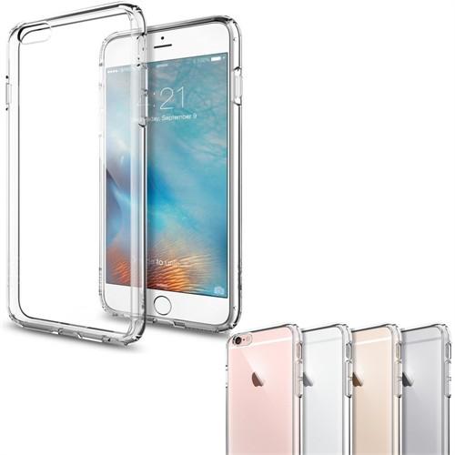 Melefoni Apple İphone 6 6S Kılıf Sert Plastik Cam Ekran Koruyucu