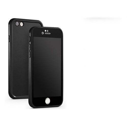 CaseCrown Apple iPhone 6/6S Plus Su Geçirmez Kılıf Siyah