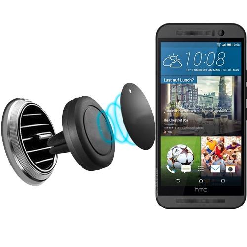 Lopard Htc One M9 Plus Kılıf - Kapak İçi Mıknatıslı Araç Tutucu Magnet Slim Telefon Tutucu