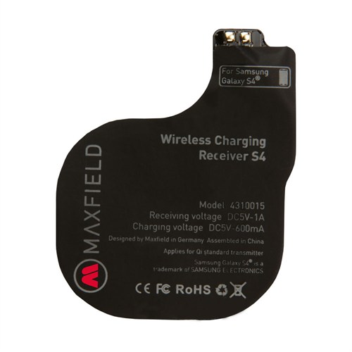 Maxfıeld Wıreless Chargıng Receıver S4