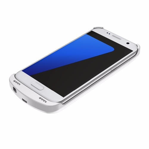 Teleplus Samsung Galaxy S7 Şarjlı Kılıf 3800Mah Beyaz