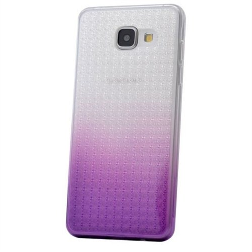 Teleplus Samsung Galaxy A5 2016 Çift Renkli Silikon Kılıf Lila
