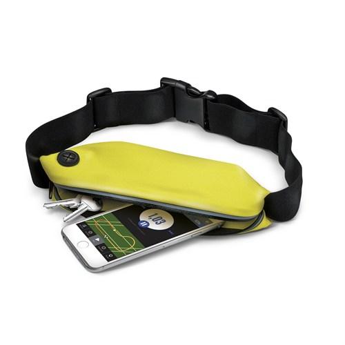 Celly Spor Akıllı Telefon Bel Çantası Sarı - Runbeltyw