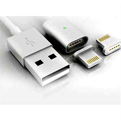 Microcase İphone Ve İpad Ledli Manyetik Usb Şarj Kablosu