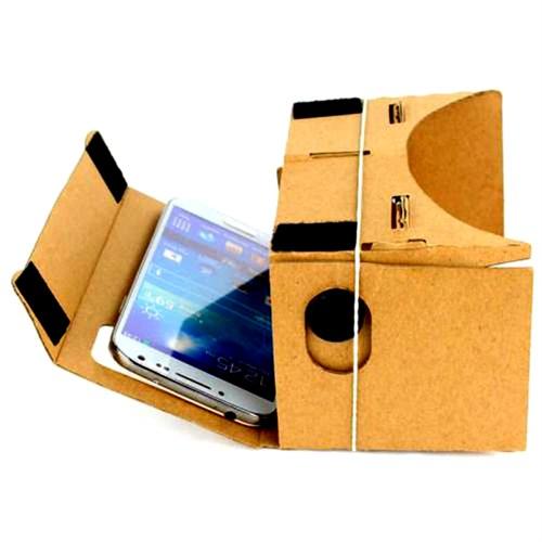 Microcase Cardboard 3D Sanal Gerçeklik Gözlüğü