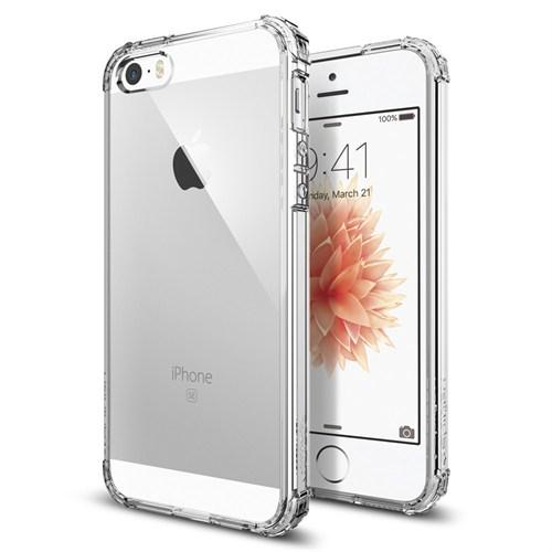 Spigen İphone Se/5S/5 Kılıf Crystal Shell Clear Crystal