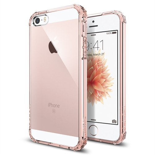 Spigen iPhone Se/5S/5 Kılıf Crystal Shell Rose Crystal