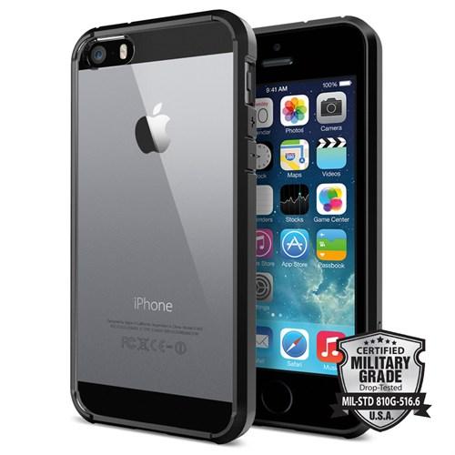 Spigen iPhone Se/5S/5 Kılıf Ultra Hybrid Black