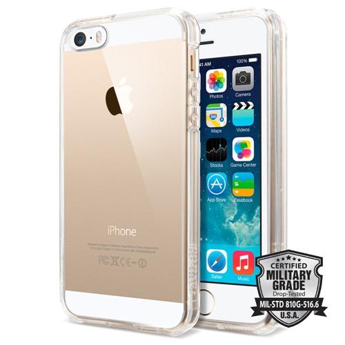 Spigen iPhone Se/5S/5 Kılıf Ultra Hybrid Crystal Clear