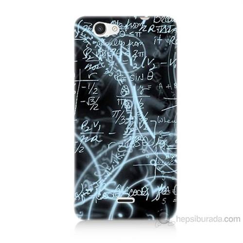 Teknomeg Casper Via V8C Matematik Baskılı Silikon Kılıf