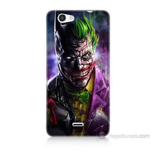 Teknomeg Casper Via V8C Batman Vs Joker Baskılı Silikon Kılıf