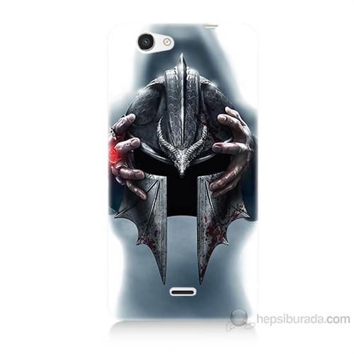 Teknomeg Casper Via V8C Assassins Creed Baskılı Silikon Kılıf