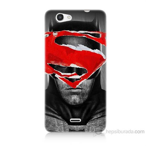 Teknomeg Casper Via V8C Batman Vs Superman Baskılı Silikon Kılıf