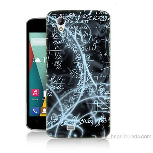 Teknomeg General Mobile Discovery 2 Mini Matematik Baskılı Silikon Kılıf