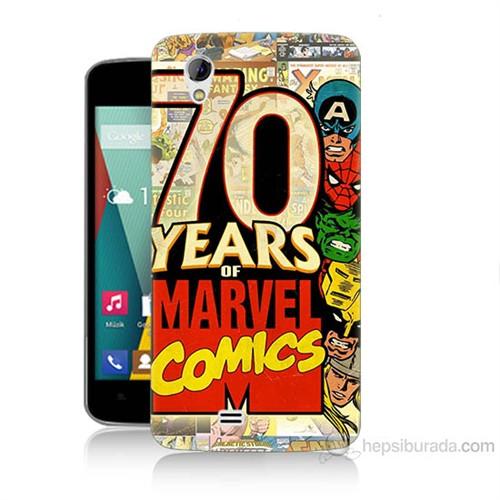 Teknomeg General Mobile Discovery 2 Mini Marvel Karakterleri Baskılı Silikon Kılıf