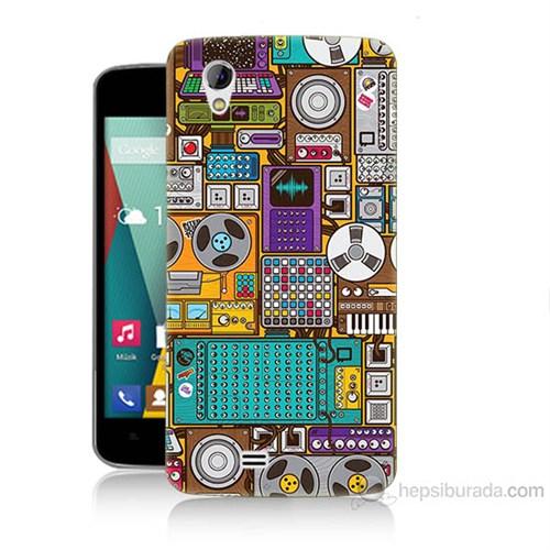 Teknomeg General Mobile Discovery 2 Mini Teknoloji Baskılı Silikon Kılıf