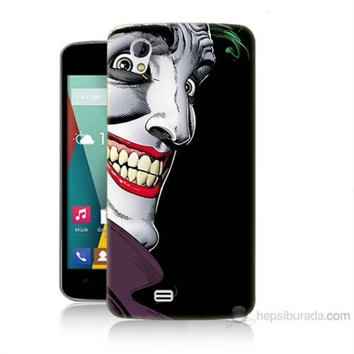 Teknomeg General Mobile Discovery 2 Mini Joker Baskılı Silikon Kılıf