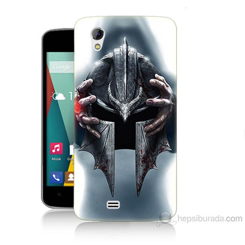 Teknomeg General Mobile Discovery 2 Mini Assassins Creed Baskılı Silikon Kılıf