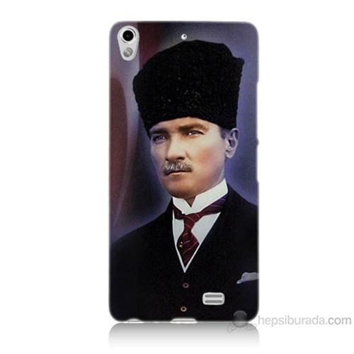 Teknomeg General Mobile Discovery Air Mustafa Kemal Atatürk Baskılı Silikon Kılıf
