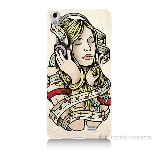 Teknomeg General Mobile Discovery Air Müzik Aşkı Baskılı Silikon Kılıf