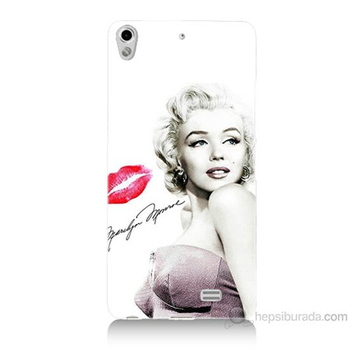 Teknomeg General Mobile Discovery Air Marilyn Monroe Baskılı Silikon Kılıf