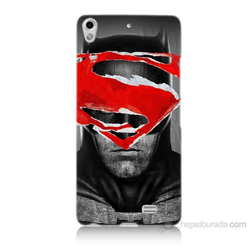 Teknomeg General Mobile Discovery Air Batman Vs Superman Baskılı Silikon Kılıf
