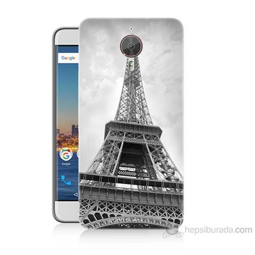 Teknomeg General Mobile Gm5 Plus Eyfel Kulesi Baskılı Silikon Kılıf
