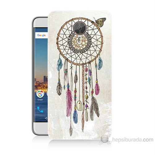 Teknomeg General Mobile Gm5 Plus Dream Catcher Baskılı Silikon Kılıf