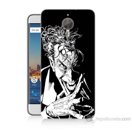 Teknomeg General Mobile Gm5 Plus Gülen Joker Baskılı Silikon Kılıf