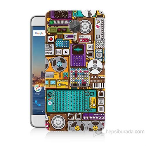 Teknomeg General Mobile Gm5 Plus Teknoloji Baskılı Silikon Kılıf