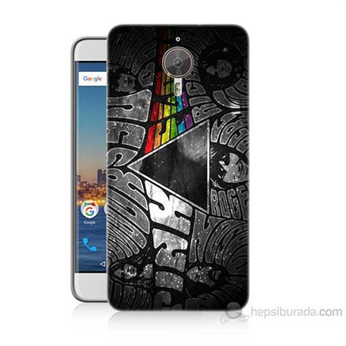 Teknomeg General Mobile Gm5 Plus Pink Floyd Baskılı Silikon Kılıf