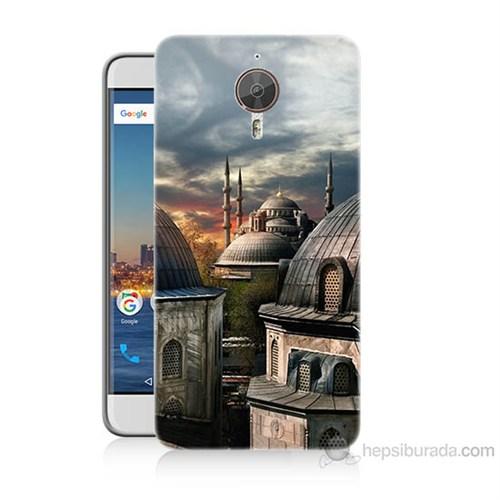 Teknomeg General Mobile Gm5 Plus Cami Baskılı Silikon Kılıf