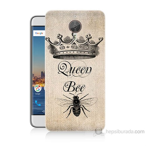 Teknomeg General Mobile Gm5 Plus Queen Bee Baskılı Silikon Kılıf