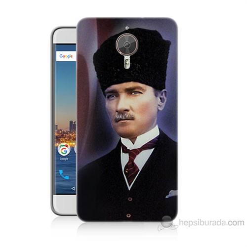 Teknomeg General Mobile Gm5 Plus Mustafa Kemal Atatürk Baskılı Silikon Kılıf
