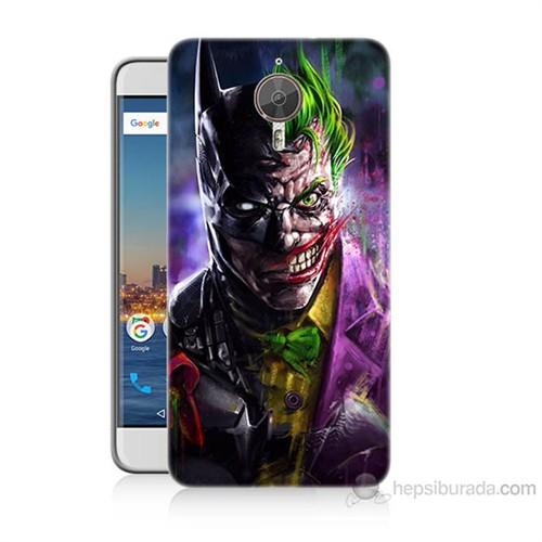 Teknomeg General Mobile Gm5 Plus Batman Vs Joker Baskılı Silikon Kılıf