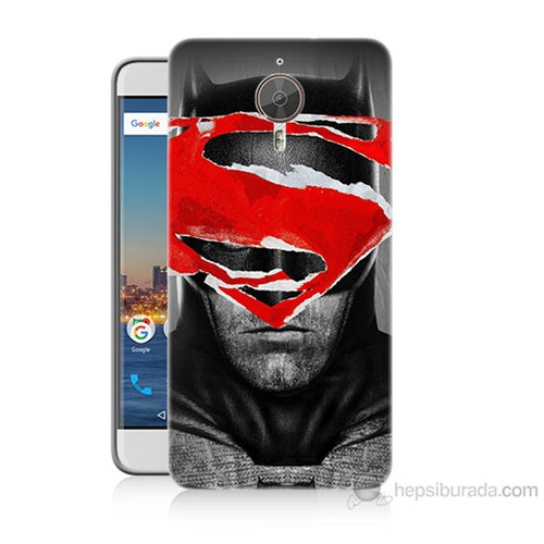 Teknomeg General Mobile Gm5 Plus Batman Vs Superman Baskılı Silikon Kılıf