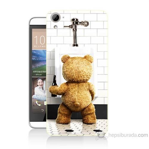Teknomeg Htc Desire 826 Tedy Bear Baskılı Silikon Kılıf