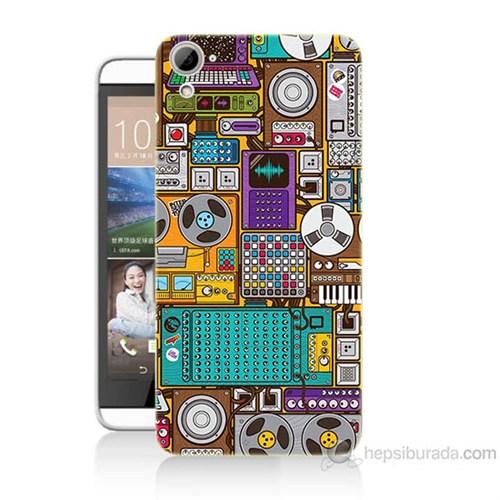Teknomeg Htc Desire 826 Teknoloji Baskılı Silikon Kılıf