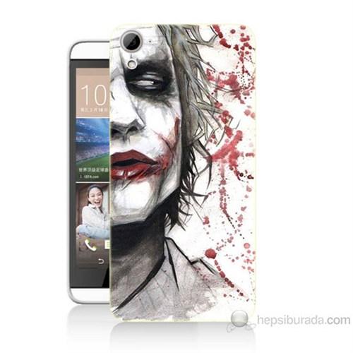 Teknomeg Htc Desire 826 Kanlı Joker Baskılı Silikon Kılıf