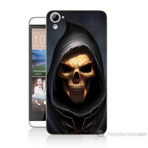 Teknomeg Htc Desire 826 Ölüm Meleği Baskılı Silikon Kılıf