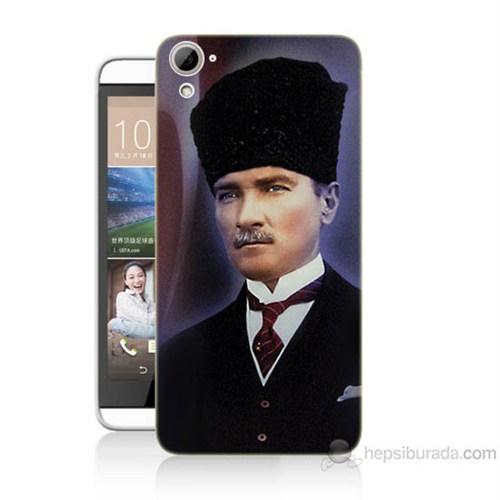 Teknomeg Htc Desire 826 Mustafa Kemal Atatürk Baskılı Silikon Kılıf