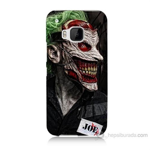 Teknomeg Htc One M9 Joker Joe Baskılı Silikon Kılıf
