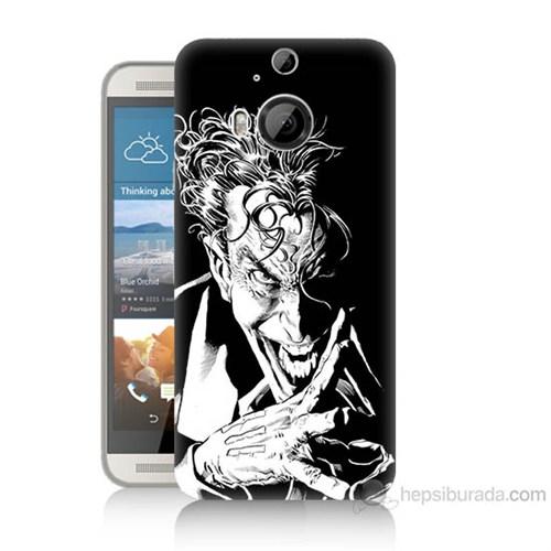Teknomeg Htc One M9 Plus Gülen Joker Baskılı Silikon Kılıf