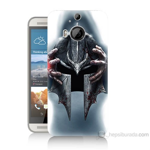 Teknomeg Htc One M9 Plus Assassins Creed Baskılı Silikon Kılıf